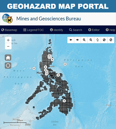 geohazard map portal
